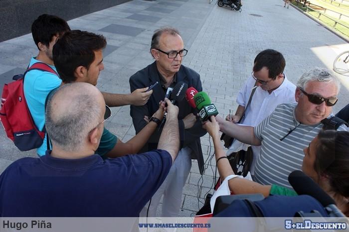 Aurelio Milla prensa