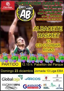 Cartel Albacete Basket Rivas