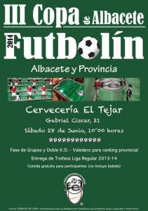 copa futbolin cartel