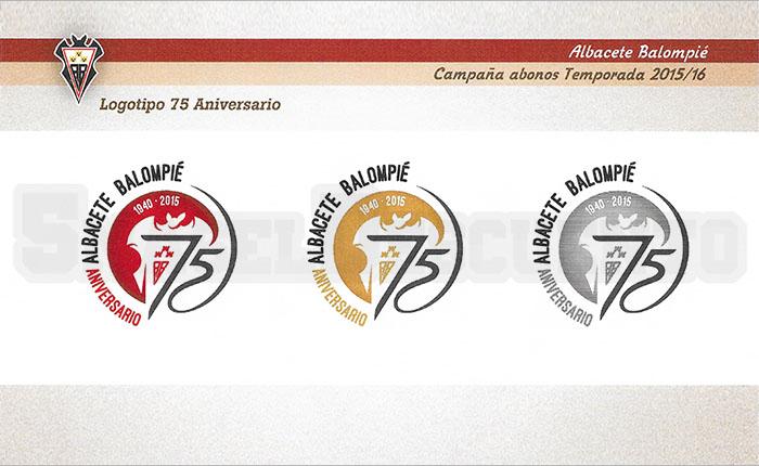 logos 75 años