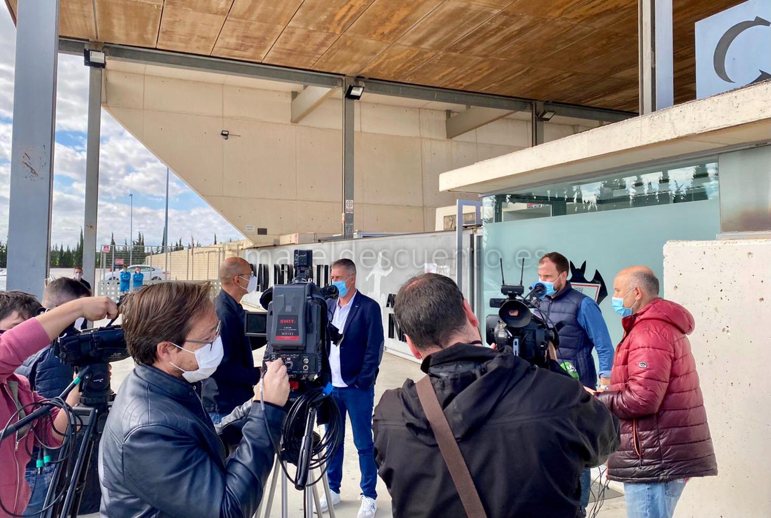 El adiós de Lucas ante los medios de comunicación. Luis Martinez | ESRadio Albacete
