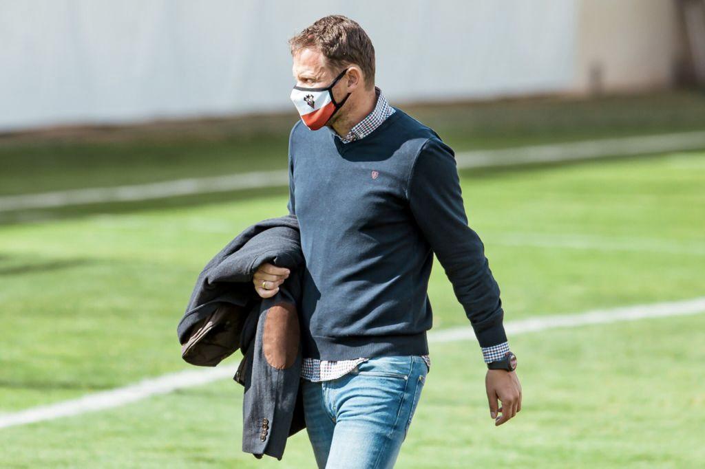 Mario Simón, entrenador del Atlético Albacete. Cedida Albacete Balompié