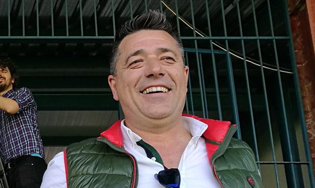 José Antonio Dorado, presidente del CF Talavera. Cedida