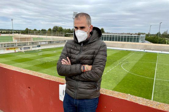 Rafa Sánchez, nuevo secretario técnico del Albacete. Hugo Piña