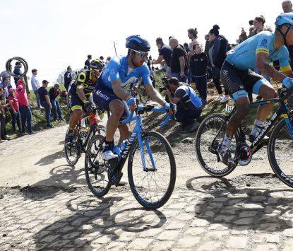 Carretero, en la París-Roubaix 2018