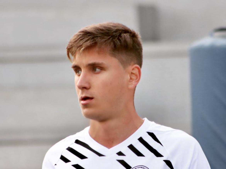 David Rabadán, futbolista propiedad del Albacete y cedido en el DUX Internacional de Madrid. Instagram: Mariia_fotografia